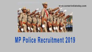 MP Police Constable Recruitment Notification 2019 Apply Online