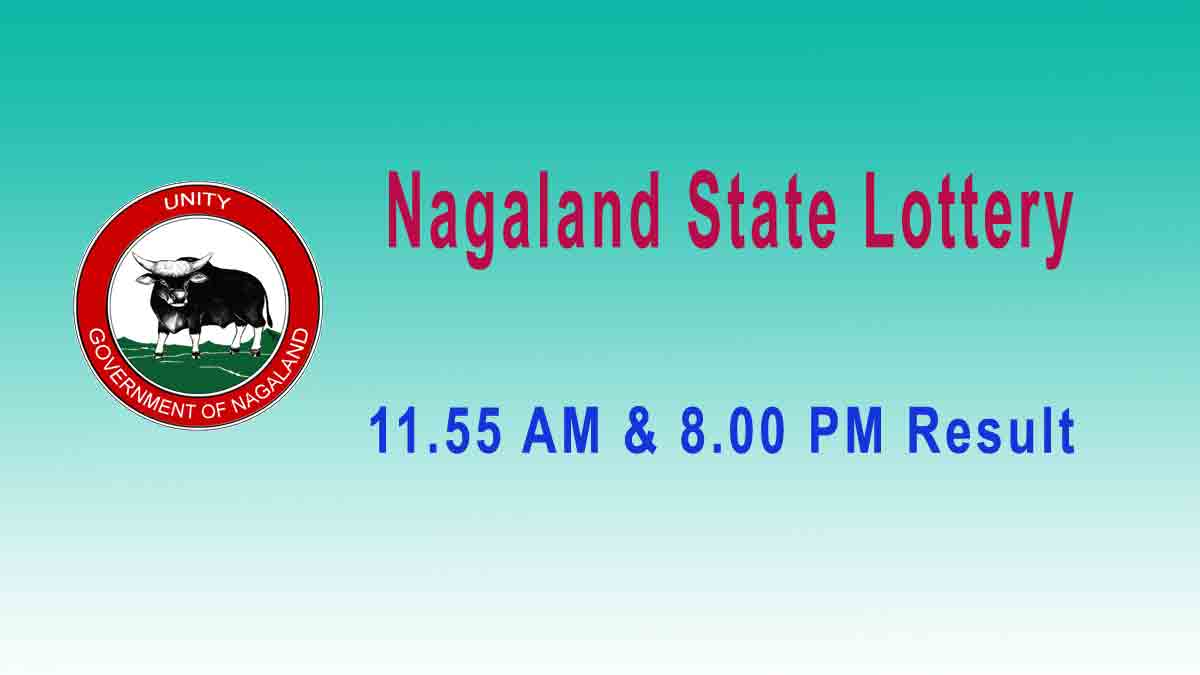 Lottery Sambad Dear Loving Morning 5.8.2019 Result 11.55AM – Nagaland lottery